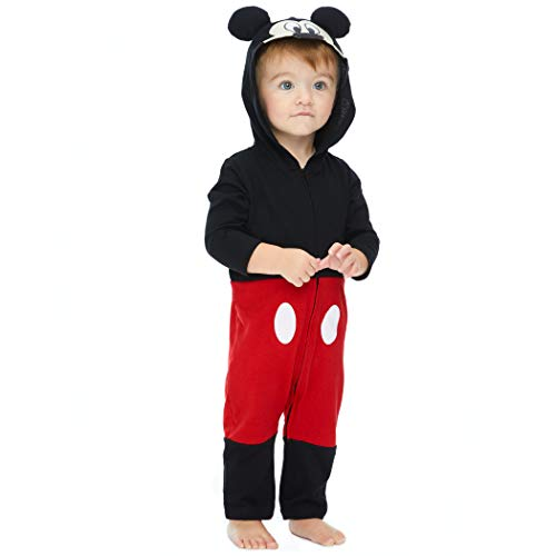 Baby Boy Disney Costumes - Disney Mickey Mouse Baby Boys' Zip-Up