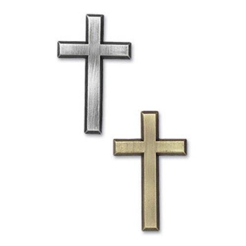 True Faith - Ornate Cross Metal Accent
