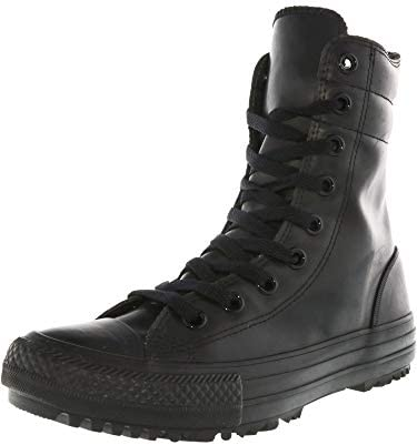 f9cbd82a600cbe Converse Chuck Taylor Women s All Star Hi-Rise Rubber Boot Black Black 6  B(M) US  Buy Online at Low Prices in India - Amazon.in