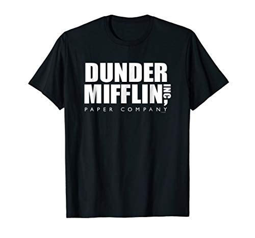 The Office Dunder Mifflin Comfortable T-Shirt - Official Tee