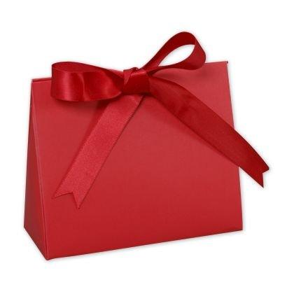 Garnet Purse Style Gift Card Holders, 4 1/2 x 2 x 3 3/4 (100 Holders) - BOWS-423-GAR-PURSE