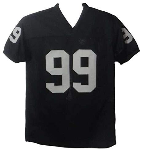 Warren Sapp Autographed Oakland Raiders Size XL Black Jersey HOF JSA
