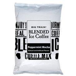 Big Train Peppermint Mocha Blended Ice Coffee 3.5lb Single -