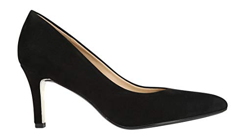 Naturalizer Women's Natalie Dress Pumps, Black Suede, 6 M ()