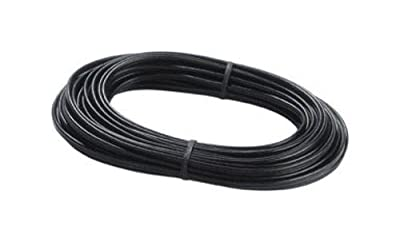Paradise GL22131 50 ft. 16 SPT-2w wire gauge Low voltage outdoor landscape lighting cable (Copper core, PVC jacket, black, UV protected)