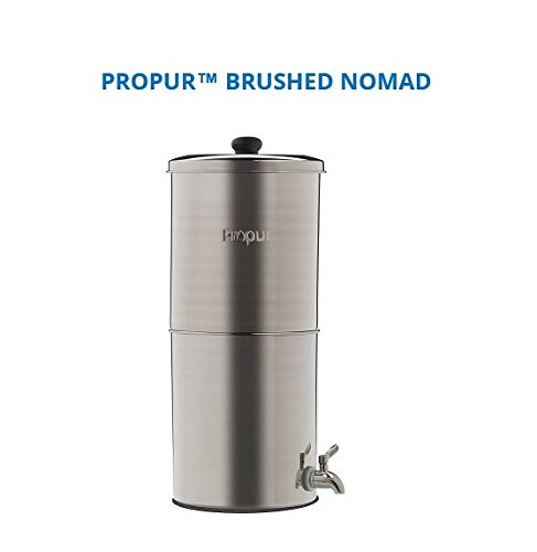 Propur BRUSHED NOMAD with 2-ProOne 5'' G2.0 filters by ProPur