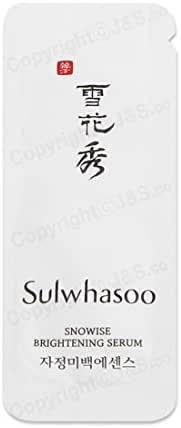 50pcs X Sulwhasoo NEW Snowise Brightening Serum 1ml