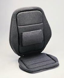Sacro Ease - 2000SE-CHAR - Deluxe 2000 Lumbar Car Seat Support Cushion - Charcoal - Width - 20 in.