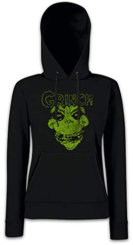 Sudadera Mujer Capucha Grinchfits Hoodie Con Para 5OqwaH6