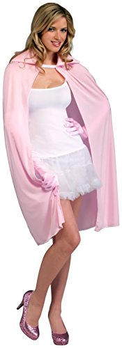 Forum Novelties 45-Inch Pink Cape, Pink, One Size