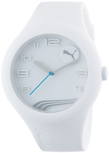 Puma PU103211005 Form XL White Silicon Watch