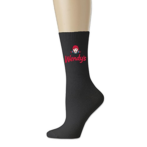 Price comparison product image Adult Unisex Wendy's Logo Athletic Sock Casual Socks (3 Colors)