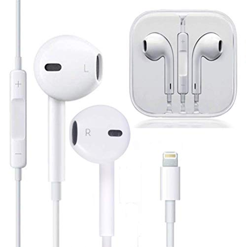 Price comparison product image my-handy-design Earbuds,  Microphone Earphones Stereo Headphones Noise Isolating Headset Compatible with iPhone XSXS MaxXRX88 Plus77 Plus Earphones