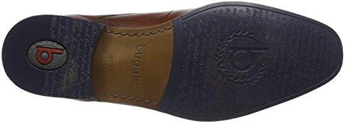 Bugatti de Cognac para Cordones Marrón Hombre Derby 311101122100 Zapatos Xr8rE