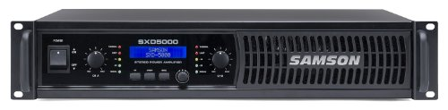 (Samson SXD5000 Power Amplifier with DSP)