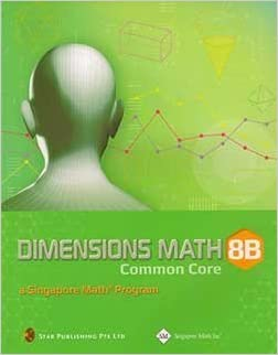 Dimensions Math Common Core 8B Textbook by The Writing Team Dimensions Math Common Core (2013-05-04)