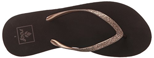 Chanclas de Tacón Reef Krystal Star Bronze Marrón (Bronze)