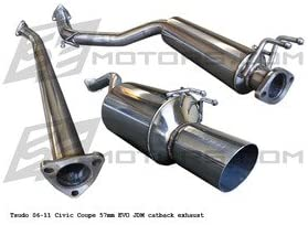 JDM N1 SS CAT BACK EXHAUST SYSTEM 06 CIVIC SI 2DR 2006