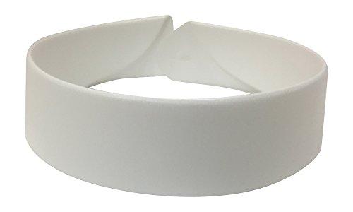 Neckband Collar - Premium Full Neckband Clergy Collar (17 - 17 1/2)
