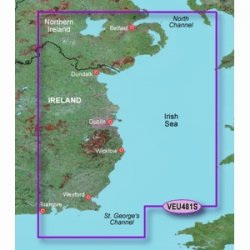 (Garmin VEU481S Belfast To Waterford BlueChart G2 Vision Maps 010-C0825-00)