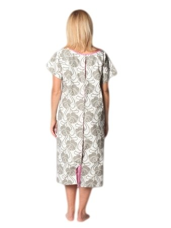 Amazoncom 100 Cotton Hospital Gown Delivery Gown Labor Gown