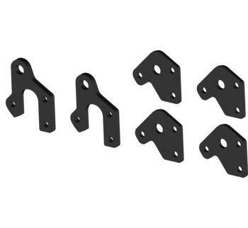 (KFI Products 2 in. UTV Plow Lift Kit for KFI UTV Push Tubes 105635 105700)