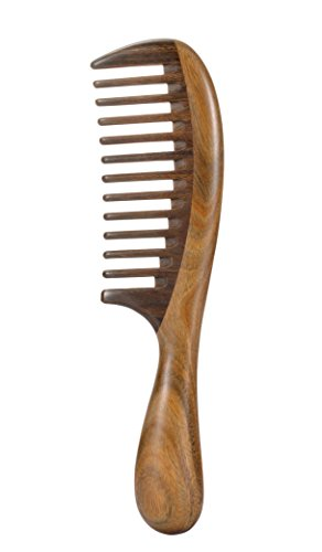 Louise Maelys Hair Wooden Wide Tooth Comb