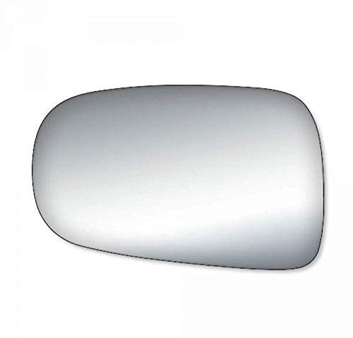 (Aftermarket Parts Fits 91-97 Toyota Previa Van Left Driver Side Mirror Glass Lens)