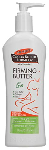 Palmer's Cocoa Butter Formula with Vitamin E + Q10 Firming Butter Body Lotion  |  Made with Shea Butter, Collagen, Elastin  |  Free of Parabens & Phthalates  |  Pump Bottle 10.6 fl. oz. ()
