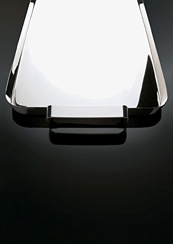 Alessi KL09''''Tau'' Tray With Handles, Silver by Alessi (Image #6)