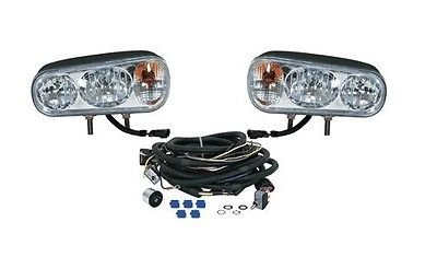 Universal HALOGEN HEADLAMP LIGHT KIT for Boss Curtis Western Blizzard Snowdogg by The ROP Shop