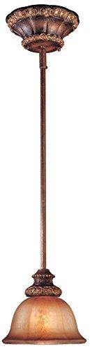 Minka Lavery 1351-177, Illuminati Mini Cone Pendant, 1 Light, 100 Total Watts, Bronze by Minka Lavery