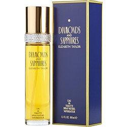 Elizabeth Taylor DIAMOND&SAPPHIRE EDT SPRAY 3.3 OZ FRGLDY...