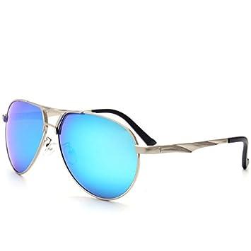 GCR Sunglasses Polarized light Shade glasses Nouvelle tendance de la mode des lunettes de soleil lunettes aviateur grenouille miroir , c