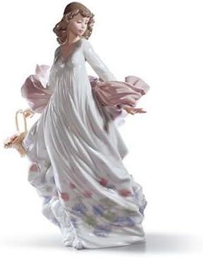 Lladro Spring Splendor Handmade Porcelain Figurine