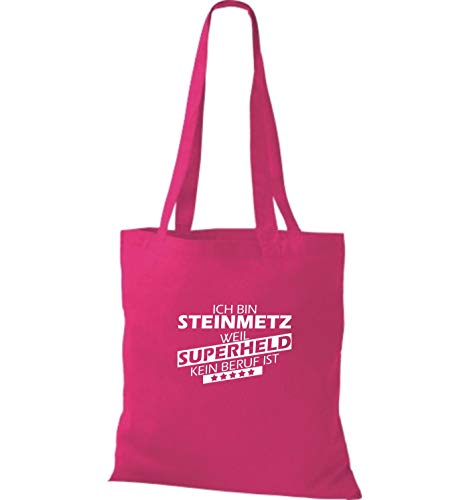 Tela Mujer Shirtstown Para Bolso Fucsia De Algodón vwS4xw