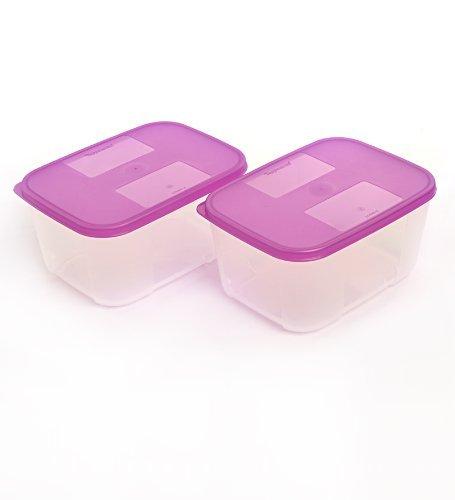 Tupperware TP-450 congelador mate Set 2.75 cups morado: Amazon.es ...
