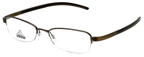 Adidas Designer Eyeglasses a674-40-6060 in Olive 52mm DEMO - Glasses Adidas Rx