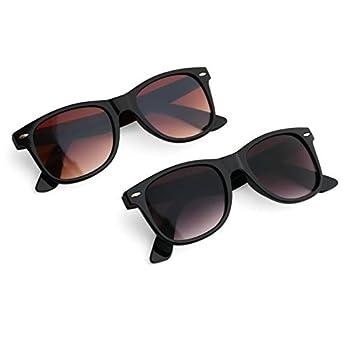 Royal Son Plastic Wayfarer Women's Sunglasses Combo