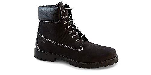 Herren Finn Stiefel Schwarz Black Shoes Klassische Marc E5w8qp