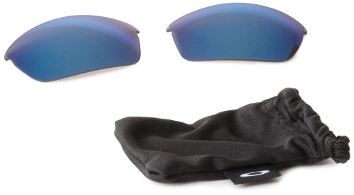 Oakley Flak Jacket Replacement Lenses,Ice,one size