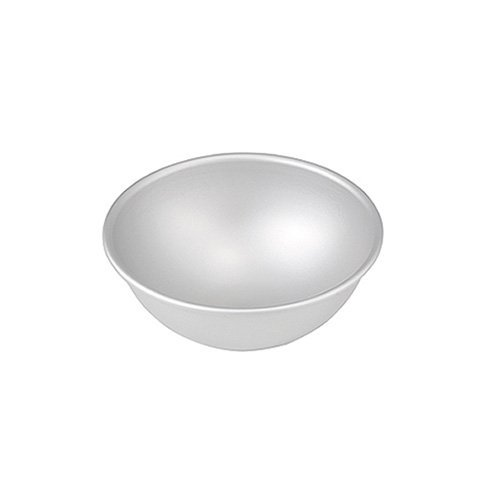 Fat Daddios 4 Inch X 2 Inch Deep Aluminum Hemisphere Pan