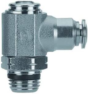 Pack Of 5 Aignep USA Flow Control 3//8 Tube x 1//4 Swift-Fit Flow Out Screw Adjustment