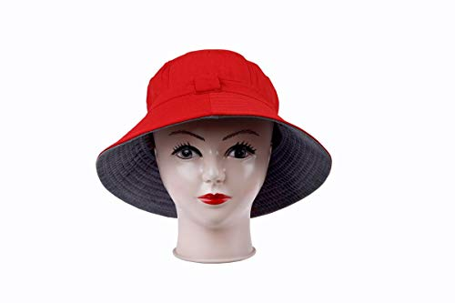 SoSh Beige Men and Women s Sun Hat for Women Hat for Women Beach Bow Knot  Hat Cap for Women Summer Beach Outdoor Fashion Accessory Unisex Hat   Amazon.in  ... e4f263c06ca8