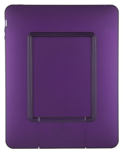 (Speck Products See Thru Satin Soft Touch Hard Shell Case for iPad, Purple, IPAD-SAT-A15)