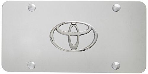 Chrome 3d License Plate - 9