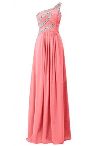 da Watermelon Spazzola elegante per asimmetrici Sunvary Strap splendida Custodia abiti sera pqB707