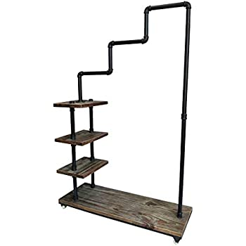 Amazon Com Articial Commercial Rolling Clothing Rack With