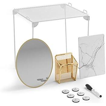 Amazon Com U Brands Locker Organizer And Decorating Kit