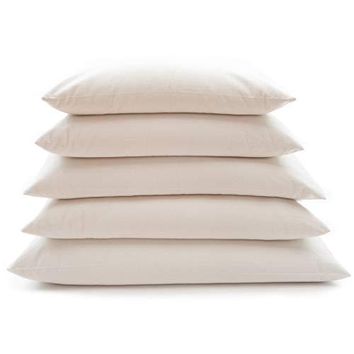 ComfySleep Rectangular Buckwheat Hull Pillow - Standard Size (20' x...
